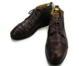 【中古】【送料無料】KENNETH COLE ケネスコール 8 ( 約26.0-26.5cm)イタリア製 ショートブーツ♪YALAKU-ヤラク-メンズブーツ・紳士靴