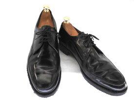 【中古】【送料無料】WALK OVER ウォークオーバー9 約26.5〜27.0cm プレーントゥ♪YALAKU-ヤラク-メンズビジネスシューズ・紳士靴