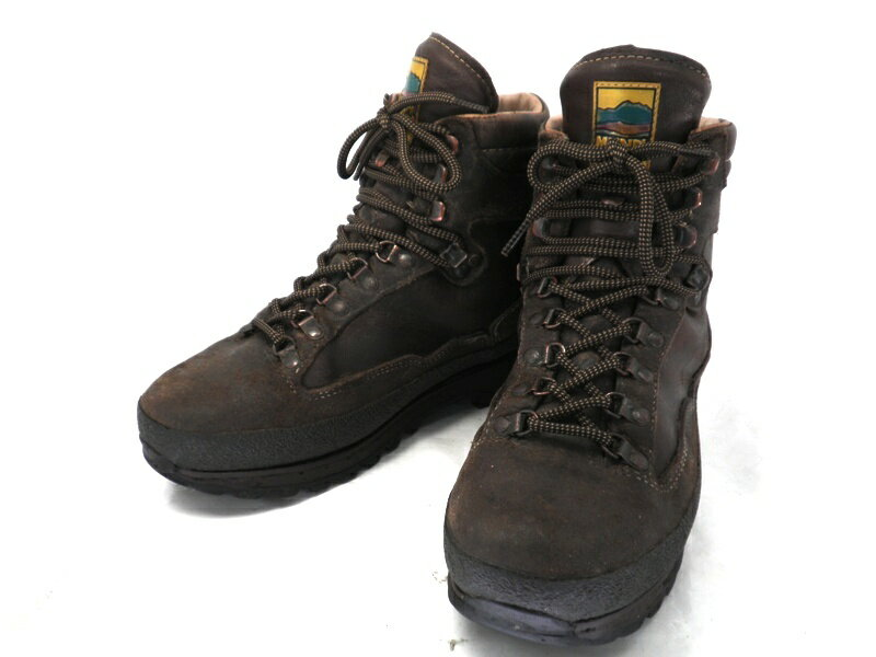 MEINDEL マインドル 7 1/2 約25.5-26.0cm ビブラムソール・マウンテンブーツ♪YALAKU-ヤラク-メンズブーツ・紳士靴【中古】【送料無料】【靴】