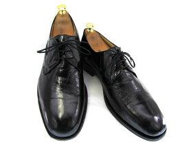 【中古】【送料無料】DOUCALS ドゥーカルス BEAMS ビームス43 1/2 約27.0-27.5cm プレーントゥ♪YALAKU-ヤラク-メンズビジネスシューズ・紳士靴