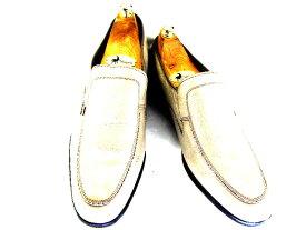 【中古】【送料無料】LOTUS ロータス約27.0-27.5cm スリッポン♪YALAKU-ヤラク-メンズビジネスシューズ・紳士靴