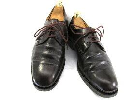 【中古】【送料無料】BALLY バリー 9 (約27.0-27.5cm)イタリア製 プレーントゥ♪YALAKU-ヤラク-メンズビジネスシューズ・紳士靴
