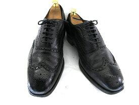 【中古】【送料無料】CHURCH'S×JONES  チャーチ×ジョーンズ 希少Wネーム 10 (約28.0-28.5cm) ウイングチップ♪YALAKU-ヤラク-メンズビジネスシューズ・紳士靴