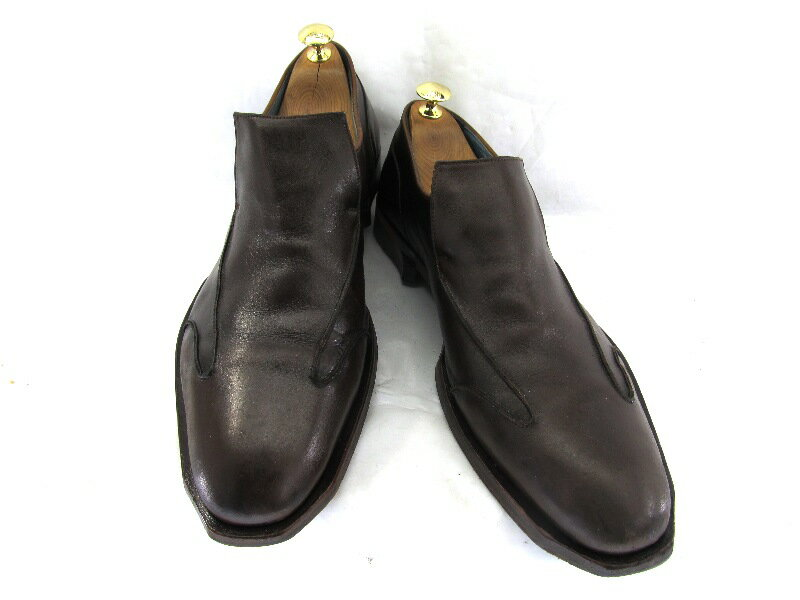 Oliver Sweeney オリバースウィー二 8 1/2 (約26.5〜27.0cm)イギリス スリッポン♪YALAKU -ヤラク-メンズビジネスシューズ・紳士靴【中古】【送料無料】【靴】