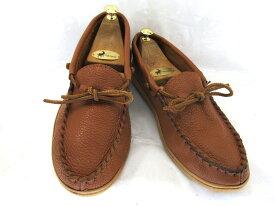 【中古】【送料無料】Laurertion Chief 10 (約28.0-28.5cm)カナダ製 ハンドメイド デッキシューズ スリッポン♪YALAKU-ヤラク-メンズカジュアルシューズ・紳士靴