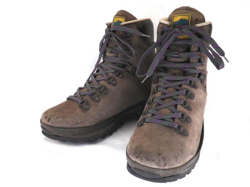 MEINDEL マインドル 7 1/2 約25.5-26.0cm ビブラムソール・マウンテンブーツ♪YALAKU-ヤラク-メンズカジュアル・紳士靴【中古】【送料無料】【靴】