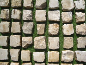 Bourgogne stone for exclusive use of the pavement stone from France