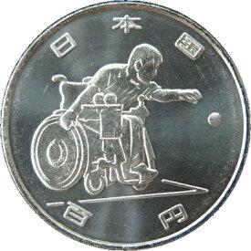 【記念貨幣】 東京パラリンピック 2020「ボッチャ」 1次 100円クラッド貨幣 平成30年(2018年)【未使用】