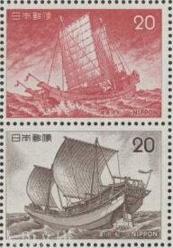 【記念切手】 「遣唐使船・遣明船」 船シリーズ 第1集 記念切手シート 昭和50年(1975年)発行【切手シート】