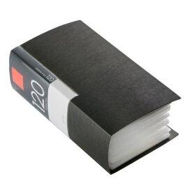 ケース バッファロー CD DVD YDCDF12002BK ヤマダ電機オリジナルモデル CD/DVDファイル ブックタイプ 120枚収納 ブラック