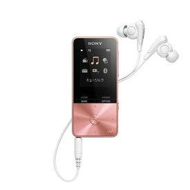 【ポイント2倍!】ソニー NW-S315-PI ウォークマン Sシリーズ[メモリータイプ] 16GB ライトピンク