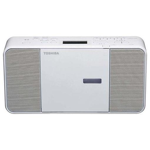 【ポイント5倍】東芝 TY-C250W CDラジオ ホワイト