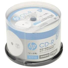 【ポイント10倍!9月20日(金)00:00〜23:59まで】ヒューレットパッカード CDR80CHPW50PA データ用700MB 48倍速対応CD-R 50枚パック