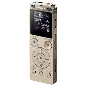 ソニー ICD-UX560FNC リニアPCM対応ICレコーダー 4GB(ゴールド)