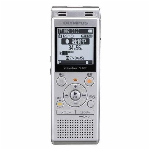 オリンパス V-862-SLV ICレコーダー 「Voice-Trek」 シルバー