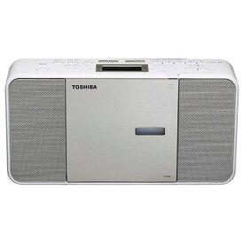 東芝 TY-C300-N ワイドFM対応CDラジオ サテンゴールド