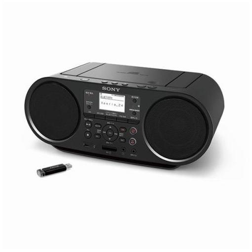 【ポイント2倍!5月25日(土)0:00〜5月28日(火)9:59まで】ソニー ZS-RS81BT Bluetooth・ワイドFM対応 CDラジオ