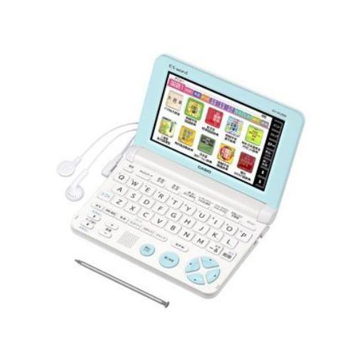 カシオ XD-SK2800WE 電子辞書 「エクスワード」(小学生向けモデル、100コンテンツ収録) ホワイト