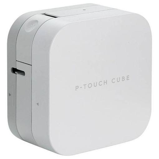 【ポイント5倍!3月23日(土)00:00〜3月26日(火)01:59】ブラザー PT-P300BT ラベルライター 「ピータッチキューブ(P-TOUCH CUBE)」 スマートフォン接続専用モデル