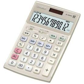 カシオ JS-20WK-GD 本格実務電卓 12桁(ゴールド)