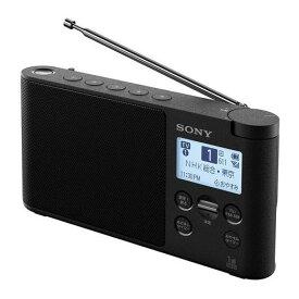 【ポイント10倍!】ソニー XDR-56TV-B ワンセグTV音声/FMステレオ/AMラジオ ブラック