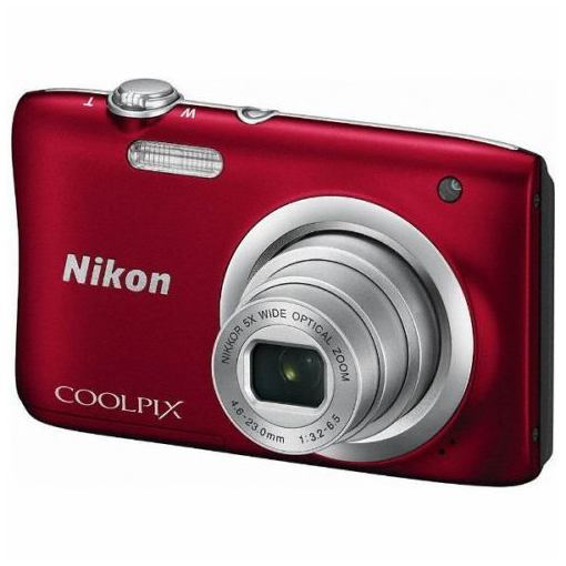 【ポイント10倍!3月21日(木)20:00〜】ニコン A100RD デジタルカメラ 「COOLPIX(クールピクス)」 A100 レッド