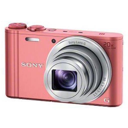 ソニー デジタルカメラ Cyber-shot(サイバーショット) DSC-WX350 P ピンク