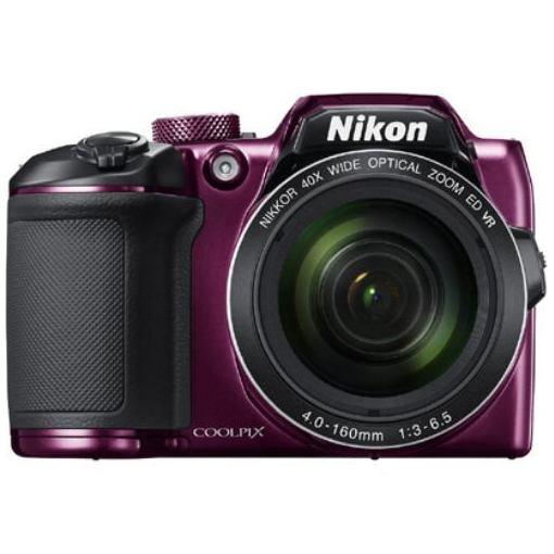 【ポイント10倍!5月11日(土)00:00〜5月21日(火)1:59まで】ニコン B500PU デジタルカメラ COOLPIX(クールピクス) B500(プラム)