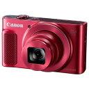 【ポイント10倍!10月15日(火)0:00〜23:59まで】キヤノン PSSX620HSRE デジタルカメラ PowerShot(パワーショット) SX620 HS(レッド)