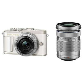オリンパス EPL9-WKIT-WHT デジタル一眼カメラ「OLYMPUS PEN E-PL9」EZダブルズームキット ホワイト
