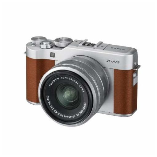 富士フイルム XA5LKITBW ミラーレス一眼カメラ FUJIFILM X-A5 レンズキット ブラウン