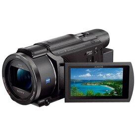 ビデオカメラ ソニー ビデオ カメラ 4K FDR-AX60-B 「Handycam(ハンディカム)」 デジタル4Kビデオカメラレコーダー ブラック