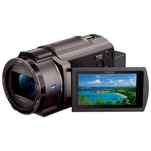 【ポイント2倍!3月21日(木)20:00〜】ソニー FDR-AX45-TI 「Handycam(ハンディカム)」 デジタル4Kビデオカメラレコーダー ブロンズブラウン