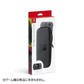 【ポイント10倍!4月1日(水)00:00〜23:59まで】任天堂 Nintendo Switchキャリングケース(画面保護シート付き) HAC-A-PSSAA