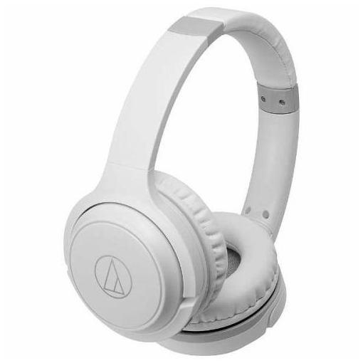 オーディオテクニカ ATH-S200BT-WH Bluetooth対応ヘッドセット ホワイト