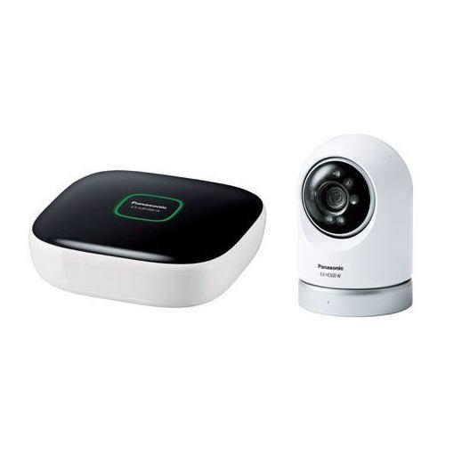 パナソニック KX-HC600K-W 屋内スイングカメラキット(ホームユニット+屋内スイングカメラ)