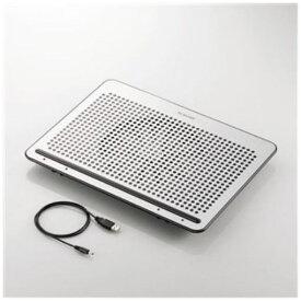 エレコム SX-CL22LSV ノートPC用クーラー(角度調節・強冷タイプ) 15.4〜17インチ対応