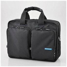【ポイント10倍!】エレコム BM-BG02BK 営業用ビジネスバッグ ブラック