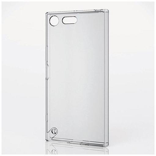 エレコム PM-XXZPHVCKCR Xperia XZ Premium用ハイブリッドケース 極み