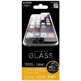 エレコム PM-A15LFLGG03 iPhone 6s Plus用液晶保護ガラス 0.33mm