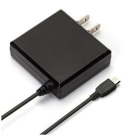 PGA(ピージーエー) PG-MAC20A01BK micro USB コネクタ AC 充電器 出力 2A ケーブル長 2m ブラック