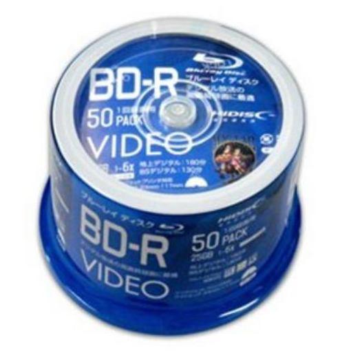 磁気研究所 VVVBR25JP50 録画用 BD-R 1-6倍速 25GB 50枚