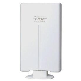 日本アンテナ UDF85B 屋外用薄型UHFアンテナ(ブースター内蔵型) 強・中・弱電界向け 水平/垂直編波用 F-PLUSTYLE(エフプラスタイル) ホワイト