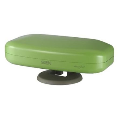 サン電子 SDA-5-1-AG 地上デジタル放送受信専用屋外・室内兼用アンテナ (アップルグリーン)