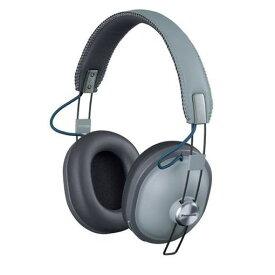 パナソニック RP-HTX80B-H ワイヤレスステレオヘッドホン クールグレー
