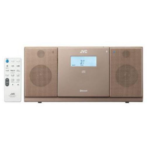 【ポイント10倍!5月25日(土)0:00〜5月28日(火)9:59まで】JVC NX-PB30-T Bluetooth対応 コンパクトオーディオ (ブラウン)