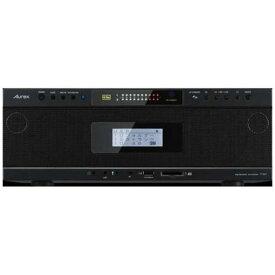 【ポイント10倍!11月15日(金)00:00〜23:59まで】東芝 TY-AH1(K) 【ハイレゾ音源対応】 Aurexシリーズ ワイヤレス再生対応SD/USB/CDラジオカセットレコーダー ブラック