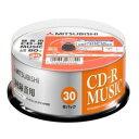 三菱ケミカルメディア MUR80FP30SD5 一回書込音楽用 CD-R 48倍速 30枚