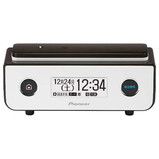 パイオニア TF-FD35S-BR 【受話子機タイプ】 デジタルコードレス留守番電話機 ビターブラウン