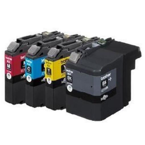 ブラザー LC119/115-4PK インクカートリッジ大容量タイプ お徳用4色パック(マゼンタ/シアン/イエロー/ブラック)